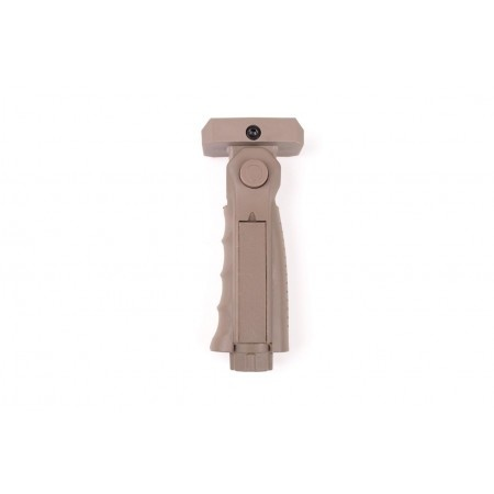 Cybergun foldable front handle for Picatninny rails - TAN