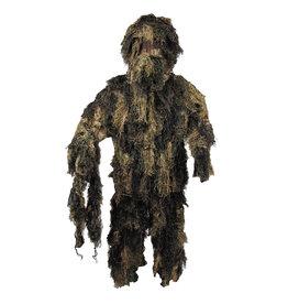 MFH 4-piece camouflage suit Ghillie - Woodland