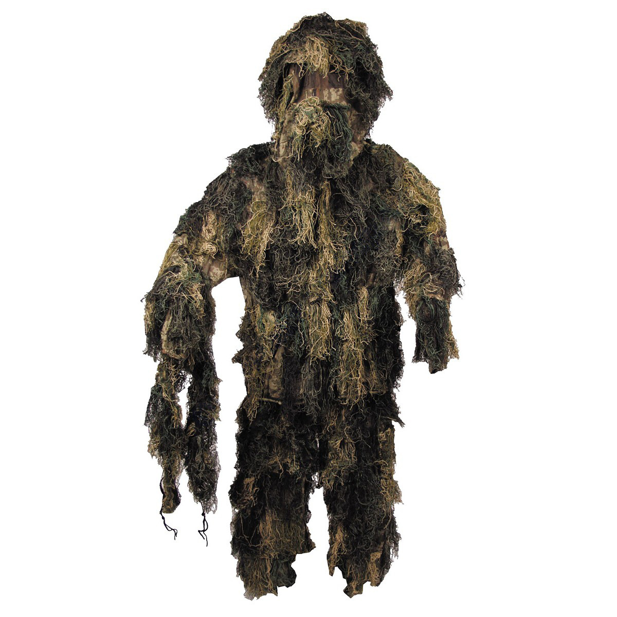 MFH 4-piece camouflage suit Ghillie - Woodland