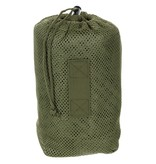 MFH Net coat with loops for camouflage - olive