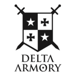 "Delta Armory  DA-C05 M4 SilentOps 7"" Charlie AEG 1,49 Joule - TAN/BK"