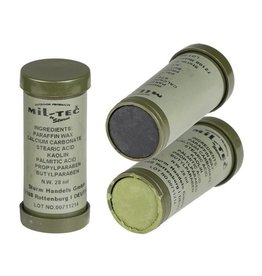 Mil-Tec Camo Face Paint - Green and Black