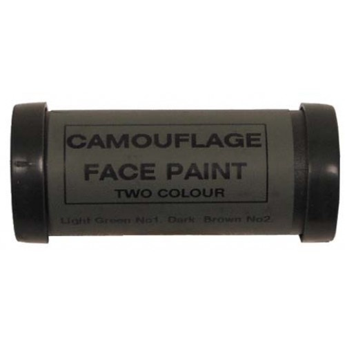 MFH Camo Face Paint - Green and Brown