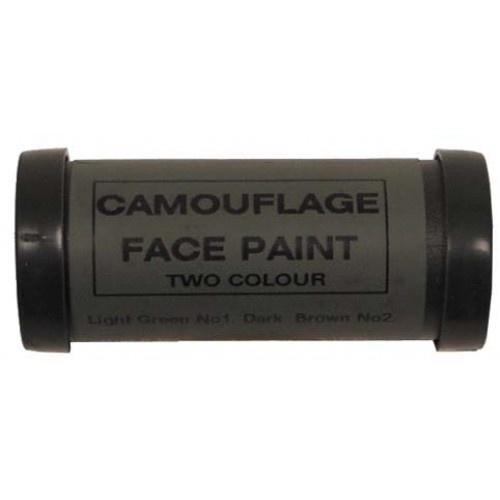 MFH Camo Face Paint Tarnstift - Grün und Braun