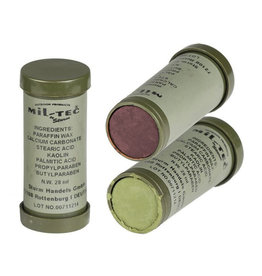 Mil-Tec Camo Face Paint - Green and Brown