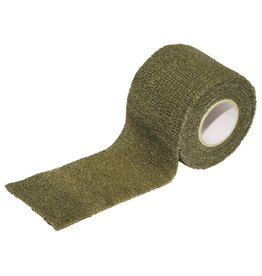 MFH Tissu auto-adhésif ruban camo - olive