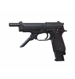 ASG KWA M93R II 1.3 Dżula FullAuto GBB - BK