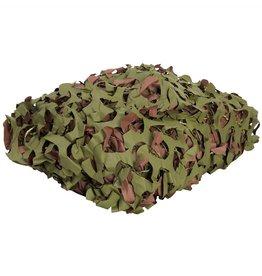 Mil-Tec Filet de camouflage 2,4 x 1m - brun-vert
