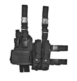 ASG Bein Holster für MP5K, MP7, M11, Vz61 - BK