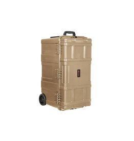 Nuprol Kit Box Ultimate Hard Case Transport Trolley  - TAN