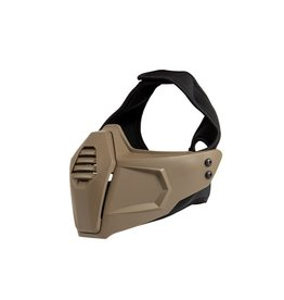 Ultimate Tactical Armor protective mask for FAST helmets - TAN