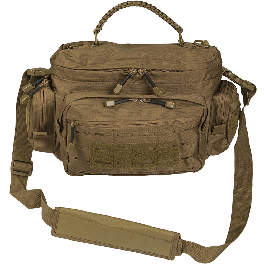 Mil-Tec Shoulder bag MOLLE Laser 7l - TAN