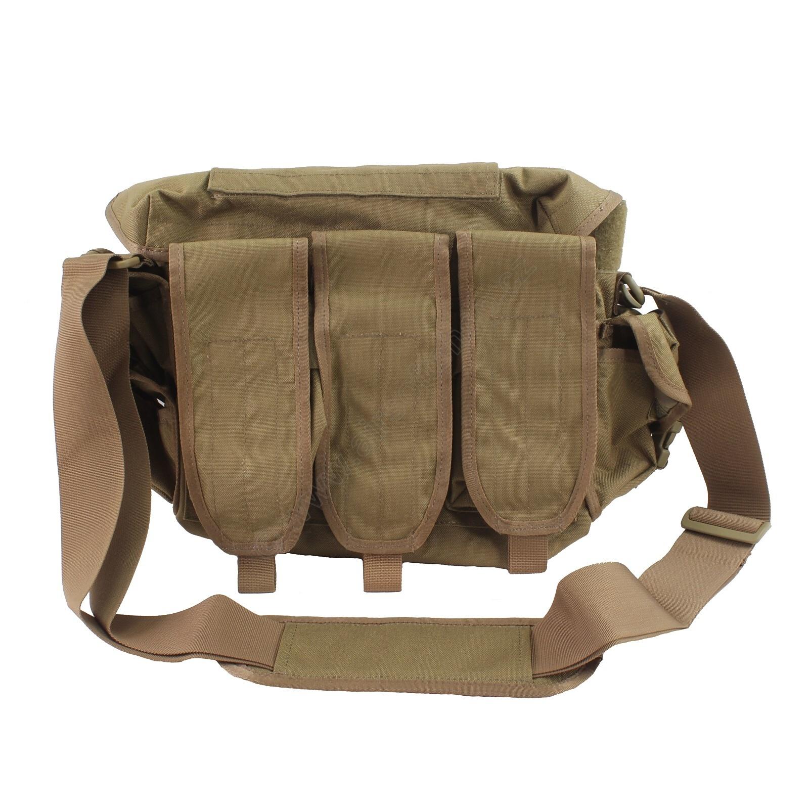 ACM Tactical Ammunition shoulder bag grab bag - TAN