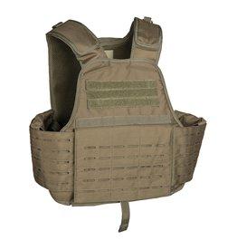 Mil-Tec Mission vest Carrier Laser Cut - OD