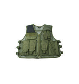 ASG Tactical vest with holster RECON - OD