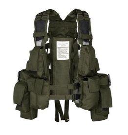 Mil-Tec Tactical vest 12 pockets - OD