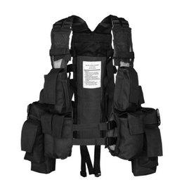 Mil-Tec Tactical Einsatzweste 12 Taschen - BK