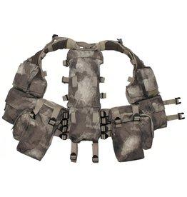 MFH Tactical vest, various pockets - HDT-camo