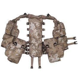 MFH Tactical vest, various pockets - Vegetato