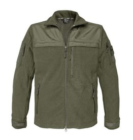 Mil-Tec Elite Fleece Jacke Hextac - OD