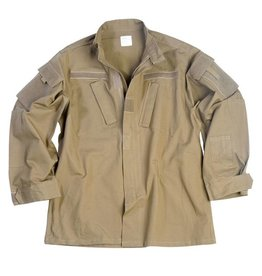 Mil-Tec US field jacket ACU RipStop - Coyote