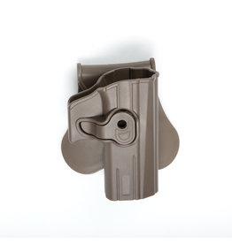 ASG Polymer holster CZ P-07, CZ P-09 BLK - TAN