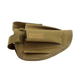 Swiss Arms Holster de ceinture avec poches pour accessoires - TAN
