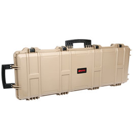 Nuprol Hard Case Waffenkoffer - TAN