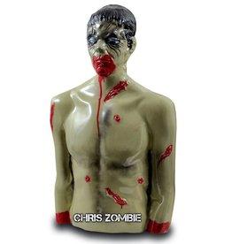 Zombie Ind. Chris - Blanco 3D Zombie Bleeder a prueba de balas