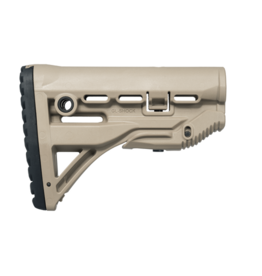 FAB Defense GL-SHOCK M4 / M16 Shock Absorbing Buttstock - TAN