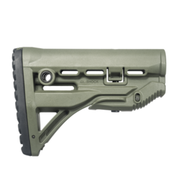 FAB Defense GL-SHOCK M4 / M16 Shock Absorbing Buttstock - OD