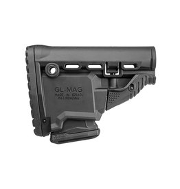 FAB Defense GL-MAG M4 'Survival' Buttstock w / 'Built-in' Mag Carrier - BK