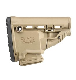 FAB Defense GL-MAG M4 'Survival' Buttstock w / 'Built-in' Mag Carrier - TAN
