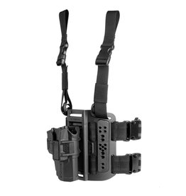 FAB Defense Scorpus MTR Thigh Rig Level 2 Holster - right - GLOCK 17/19