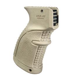 FAB Defense AGR-47 Rubberized Ergonomic AK/AKM Pistol Grip - TAN