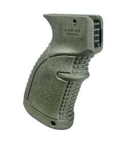 FAB Defense AGR-47 Rubberized Ergonomic AK/AKM Pistol Grip - OD