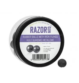 RazorGun Rubber balls with iron filling cal .50 for HDR50 / HDP50 - 50 pieces