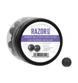 RazorGun Billes en caoutchouc avec remplissage en fer cal .68 pour HDS68 / PS-300-20 pièces