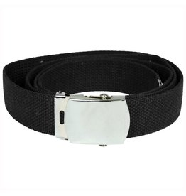 Mil-Tec Trouser belt US with metal buckle - BK