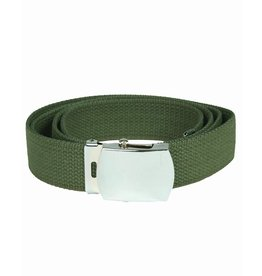 Mil-Tec Trouser belt US with metal buckle - OD