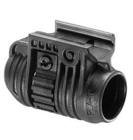 "FAB Defense PLA Flashlight and Laser Adaptor 1 ""- BK"