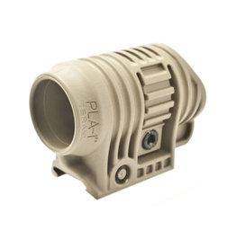 "FAB Defense PLA Flashlight and Laser Adaptor 1 ""- TAN"