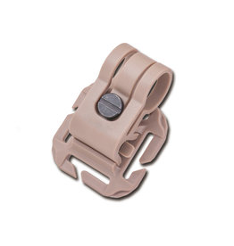 Nextorch Glo Toob Tactical Kit Bracket Molle / PALS / Velcro - TAN