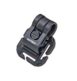 Nextorch Glo Toob Tactical Kit Bracket Molle / PALS / Velcro - BK