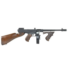 King Arms Thompson M1928 AEG  1.49 Joule - Echtholz