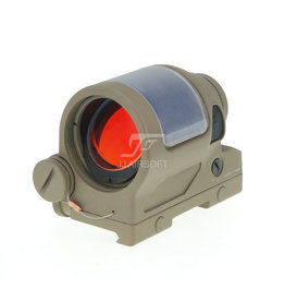 JJ Airsoft 1×38 Red Dot SRS Style with Killflash - TAN