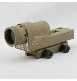 JJ Airsoft 1×24 Reflex Red Dot - TAN