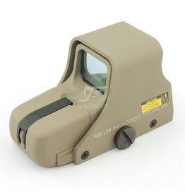 JJ Airsoft 551 Point Rouge / Vert - TAN