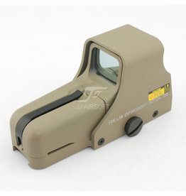 JJ Airsoft 552 Point Rouge / Vert - TAN