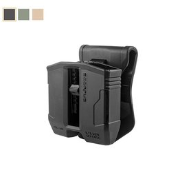 FAB Defense Scorpus PG-9 Glock Double Mag Pouch for 9mm and .40 magazines